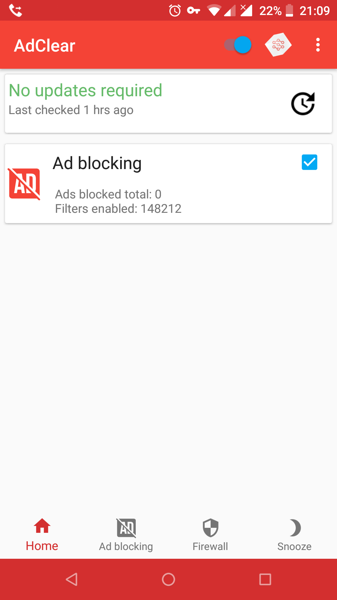 Not blocking in LineageOS 15 1 - Ad Blocking - AdClear by Seven Networks
